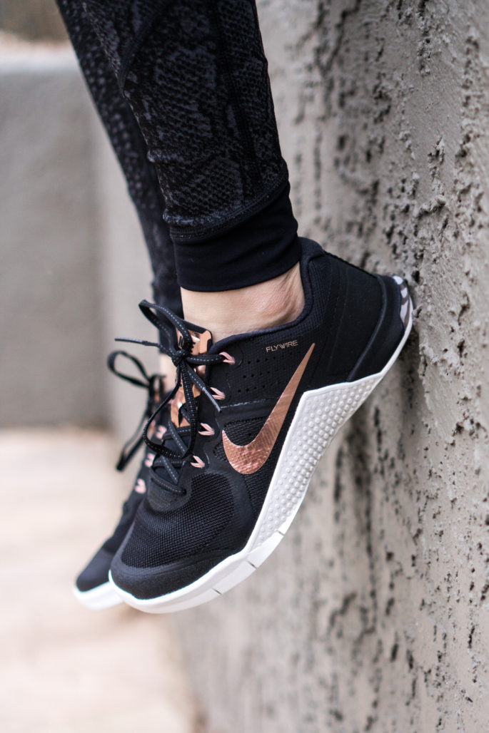 Rose Gold Nike Metcons - Agent Athletica
