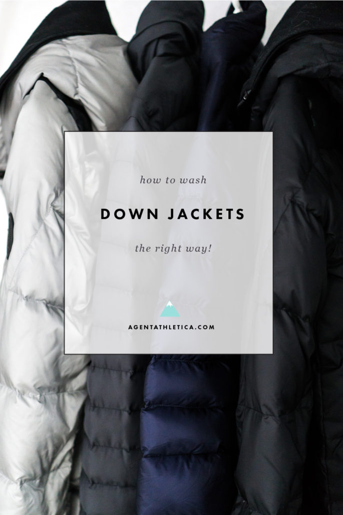 How to wash down puffer jackets