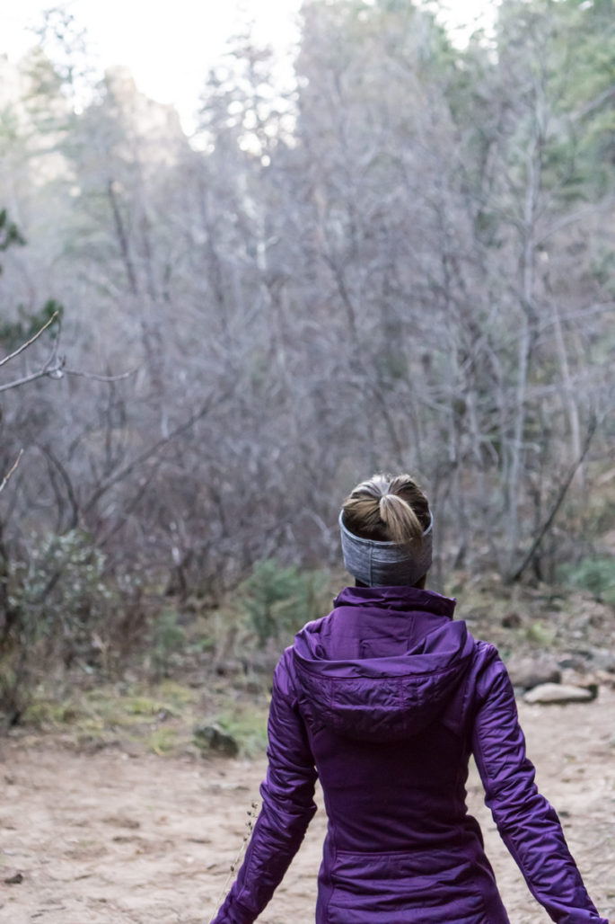 Lululemon purple running jacket