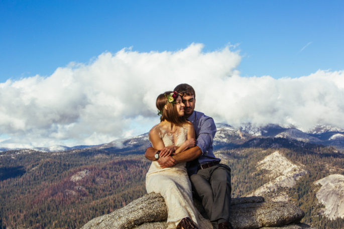 Yosemite elopement | Sentinel dome | Carl Zoch Photography