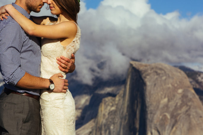 Yosemite elopement | Half dome | Carl Zoch Photography