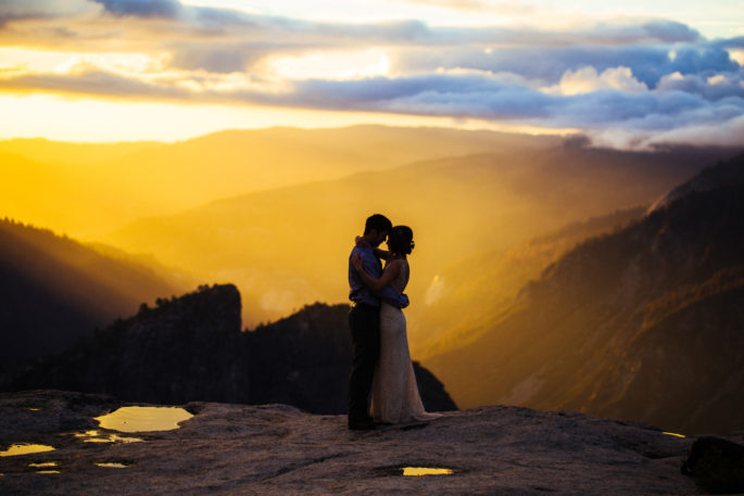 Yosemite elopement | Taft Point | Carl Zoch Photography