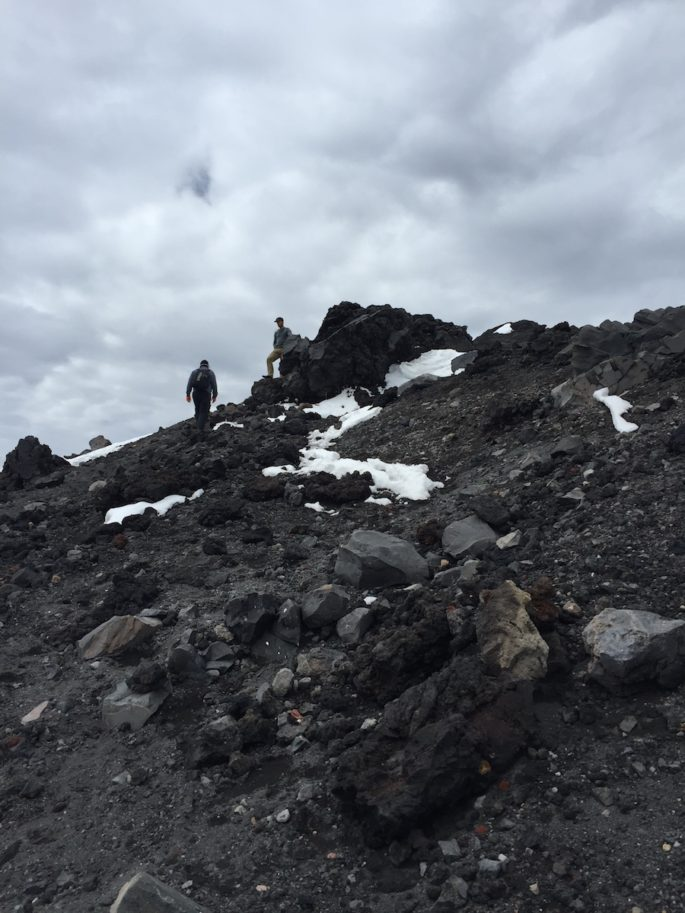 Climb up Mt Ngauruhoe lava flow