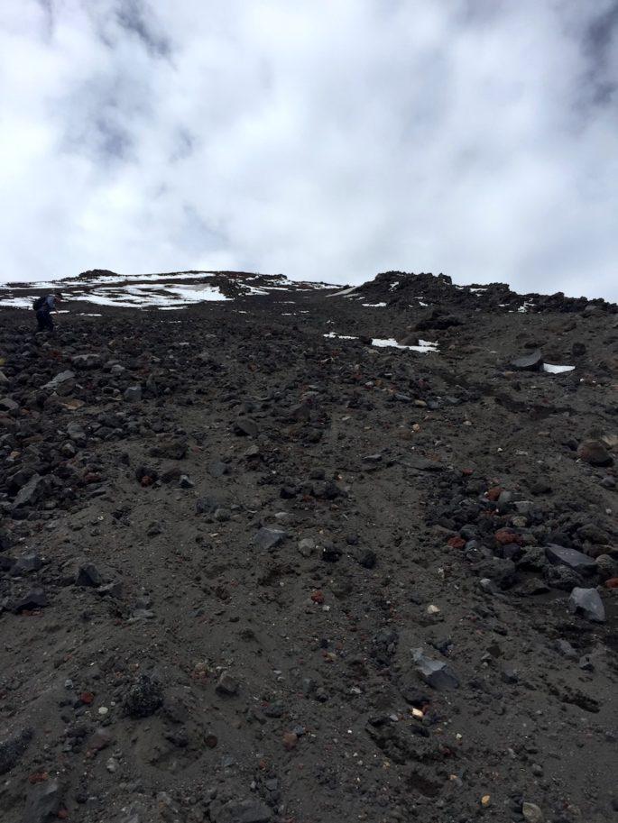 Climbing Mt Ngauruhoe