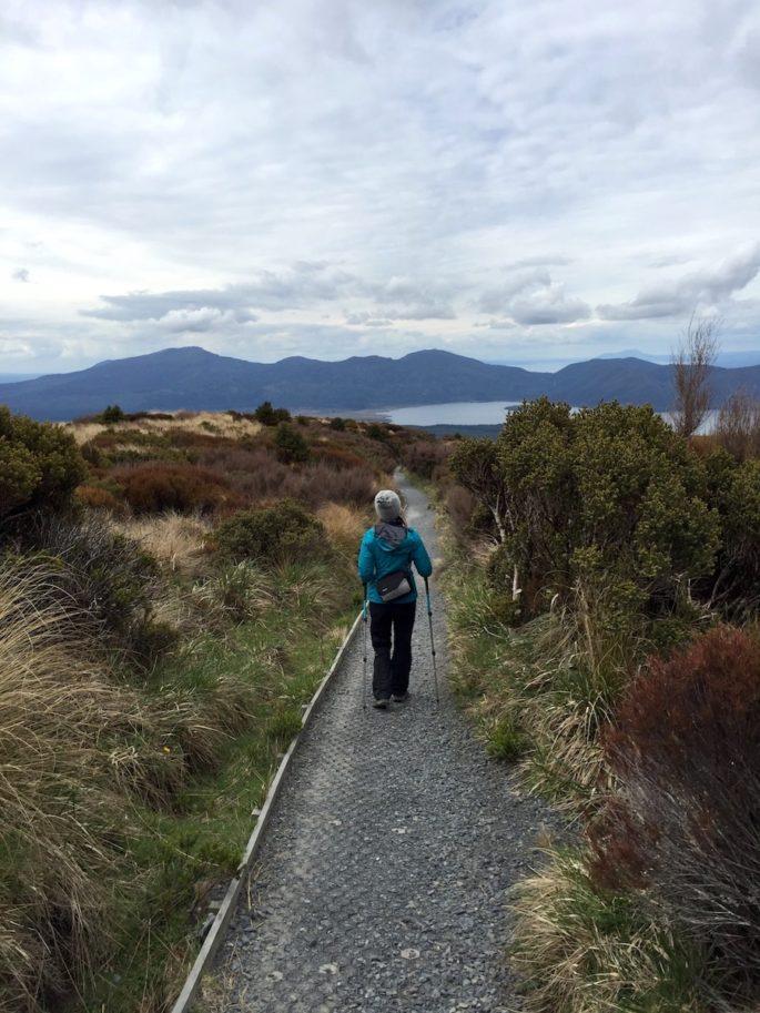 Tongariro Alpine Crossing trail