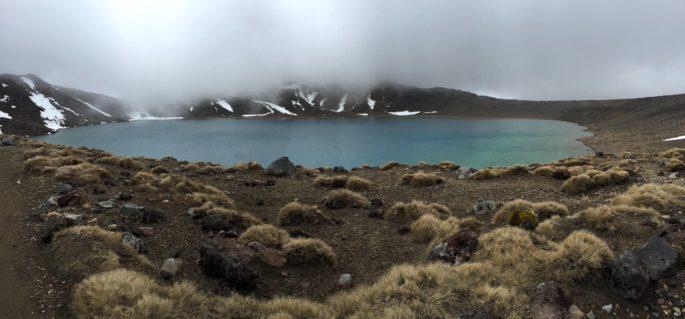 Tongariro Blue Lake