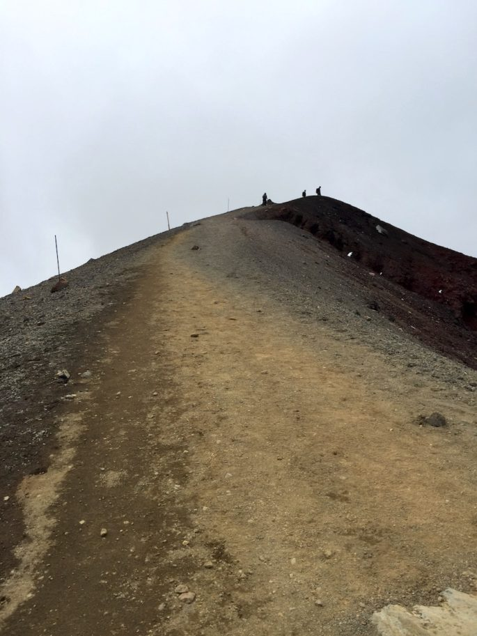 Tongariro Red Crater ascent