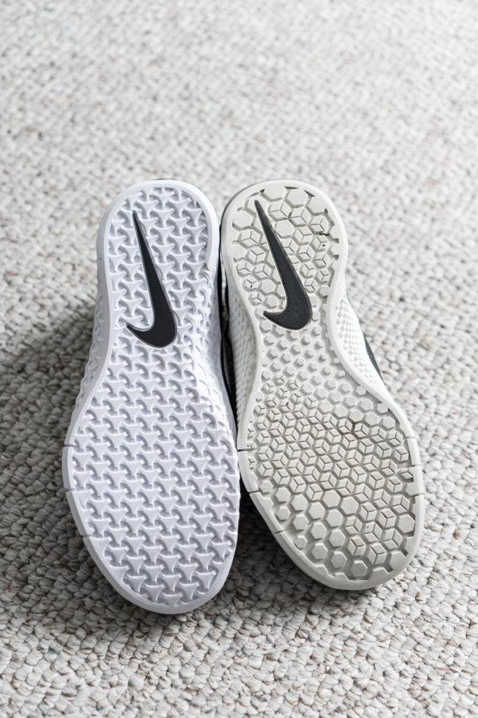 Women's Nike metcon 3 versus metcon 2 comparison