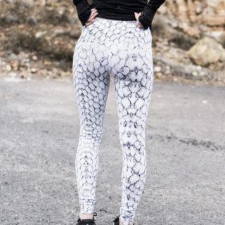 Snake print workout leggings: Varley
