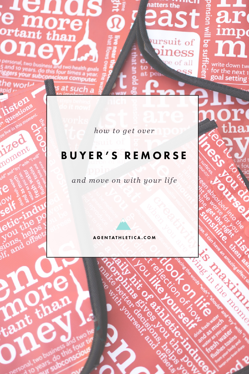 What to do about buyer's remorse when you've made some bad buying decisions