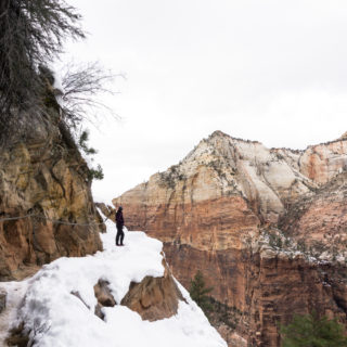 Winter in Zion: Angel's Landing + Hidden Canyon