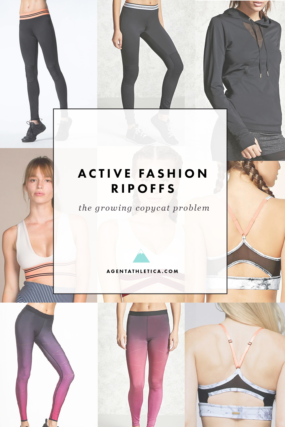 Activewear's wall of ripoff shame