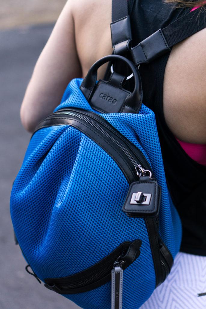 Caraa Sport dance 2 bag in azure blue