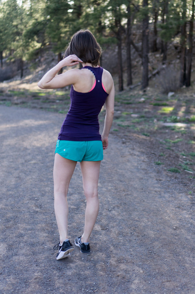 Summer lululemon workout outfit