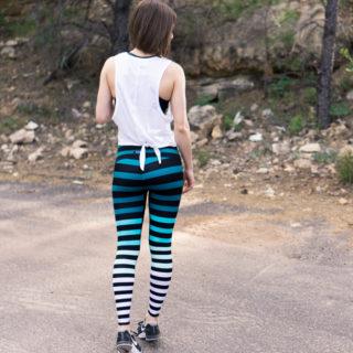 K-Deer Caroline Stripe Leggings