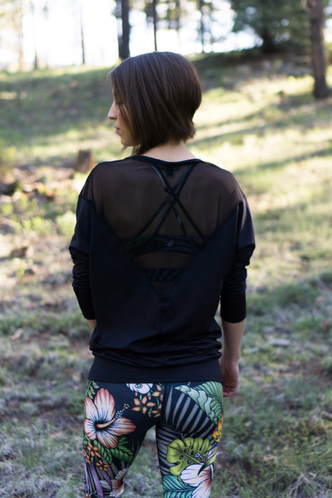 Alala tranquility tunic + Werkshop floral nights