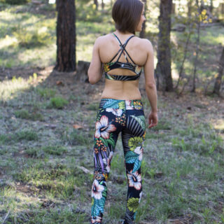 Werkshop Sports Bra Review: Floral Nights Set