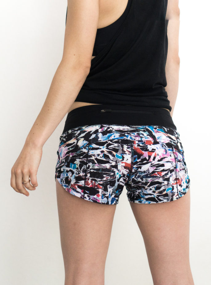 Lululemon speed up shorts in culture clash