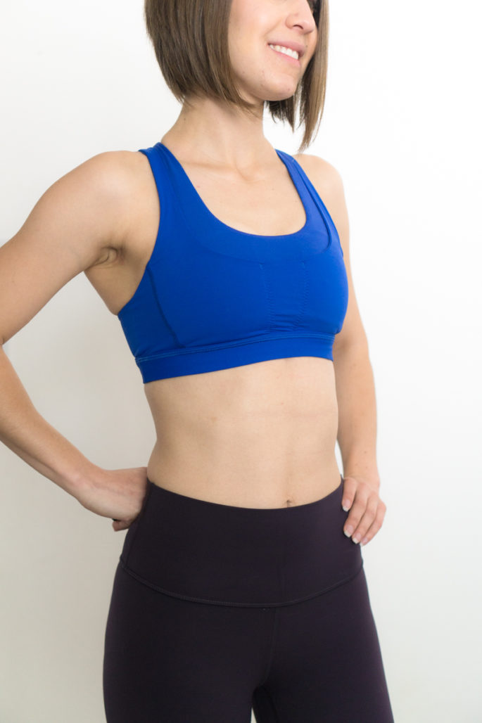 d83b9d3e4 The run on bra has two pockets in front versus the RSYB s 3. The run on  doesn t have the double-layered look that the RSYB has and instead replaces  it with ...