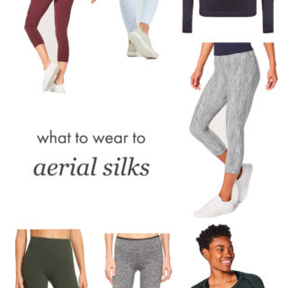 What to Wear to Aerial Silks Class