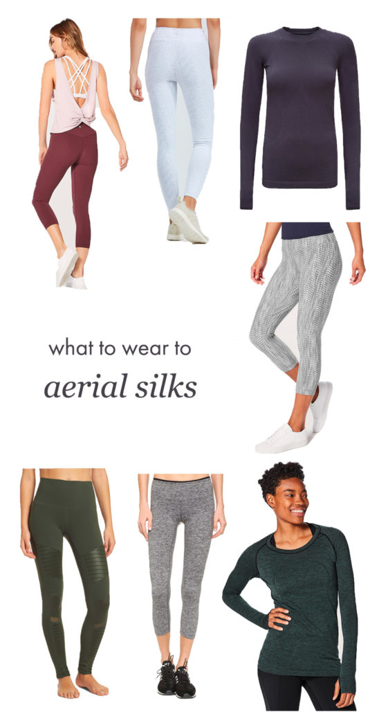 What to wear to your first aerial silks class