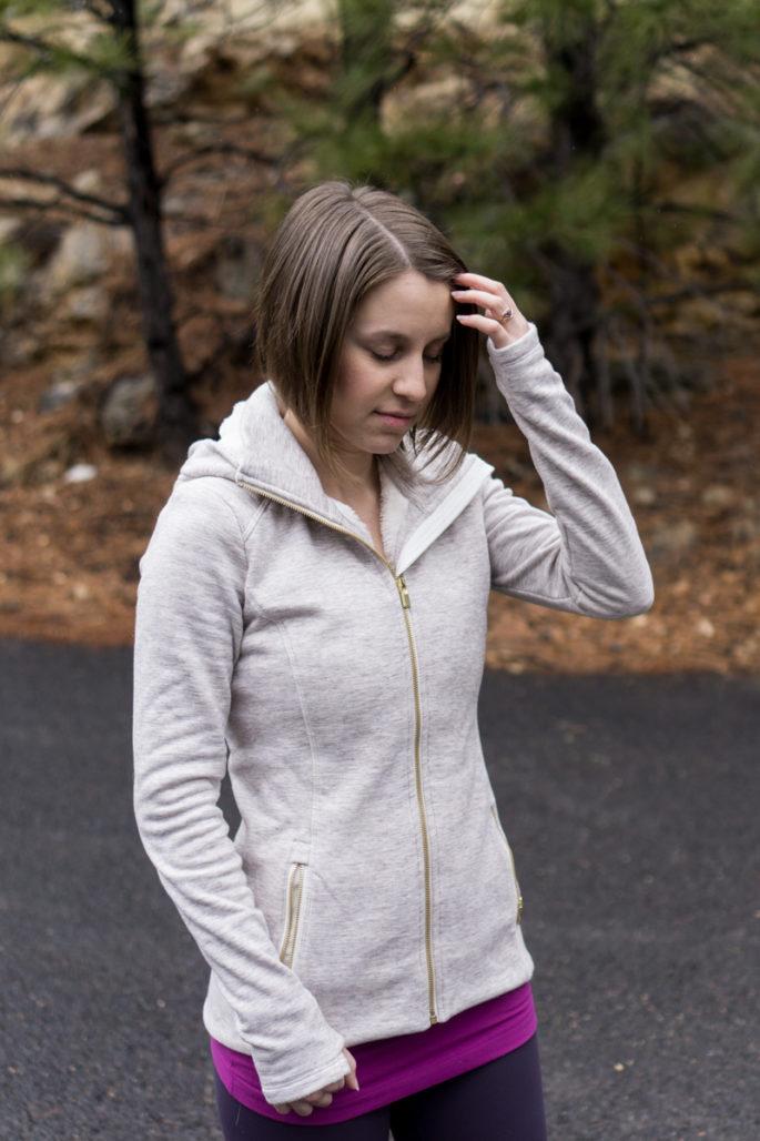 Athleta luxe stronger hoodie