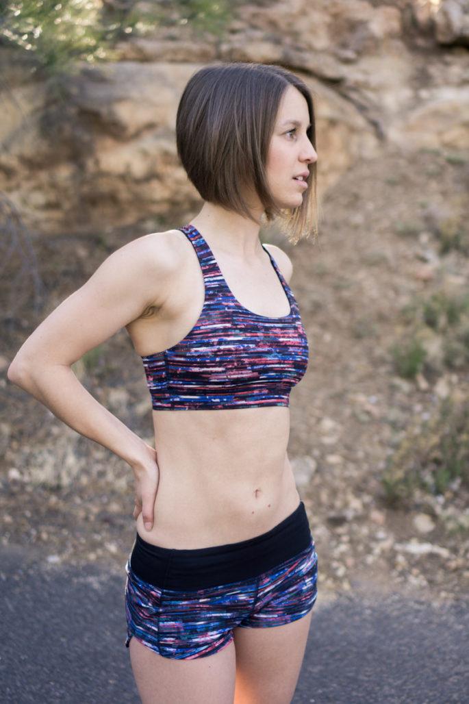 Lululemon sports bra for running