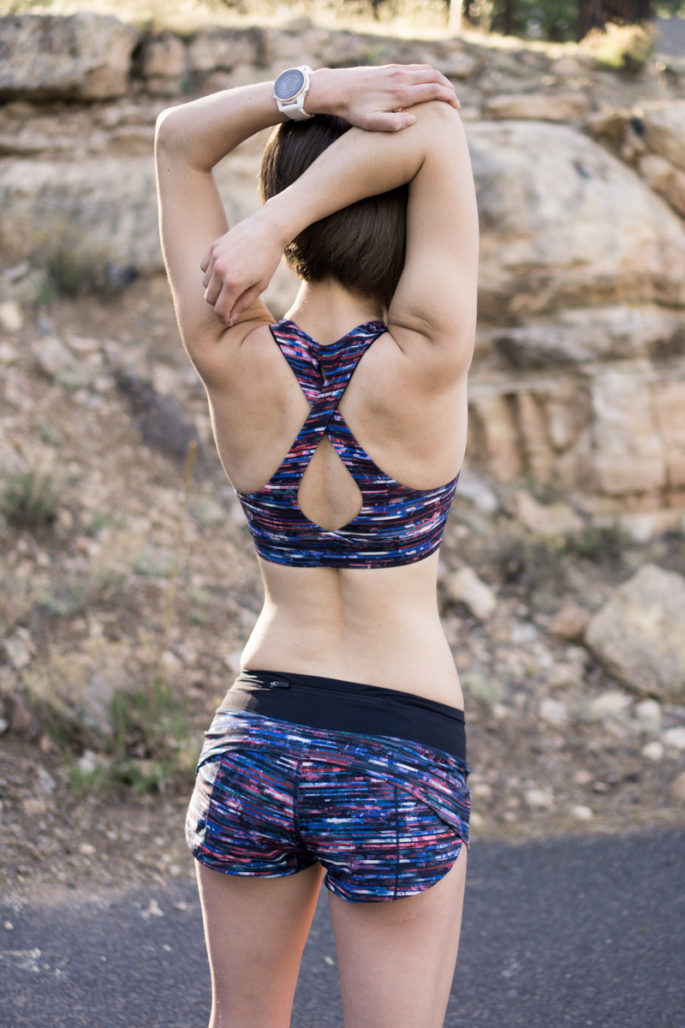 Lululemon running clothes