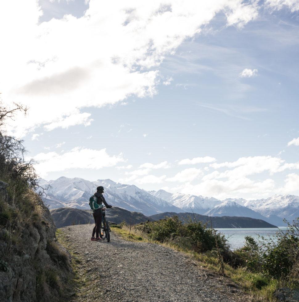 What happens when yo u go mountain biking for the first time