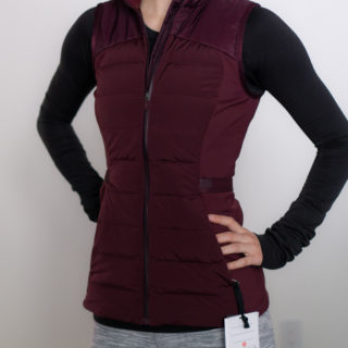 Lululemon Down for It All Vest Review
