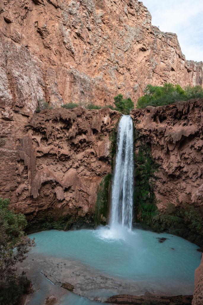 Mooney Falls - Havasupai Trip Planning
