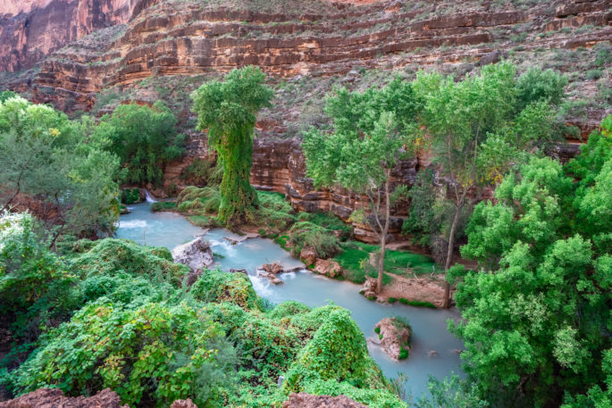 Hiking to Beaver Falls - Havasupai Trip Planning