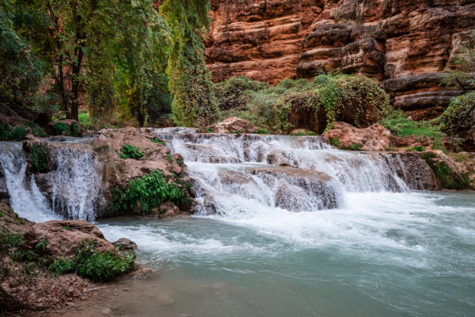 Hiking to Beaver Falls - How to Plan a Trip to Havasupai
