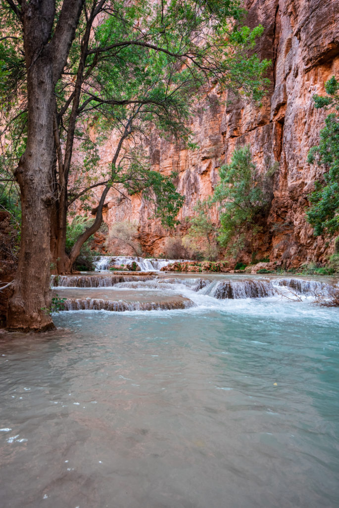 Creek crossings to Beaver Falls - How to Plan a Trip to Havasupai