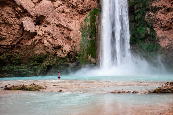 Mooney Falls - Havasupai Backpacking Guide