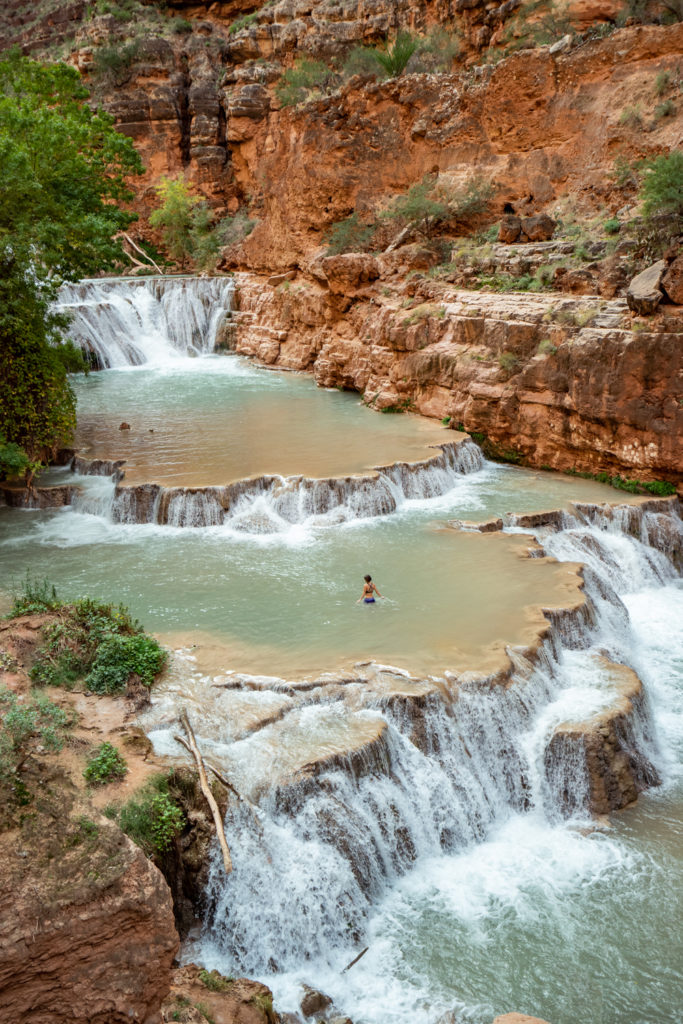 Havasupai in October: Beaver Falls