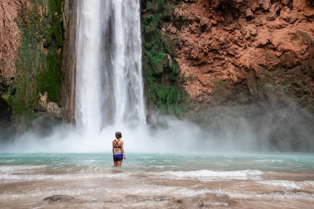 Havasupai in October: Mooney Falls