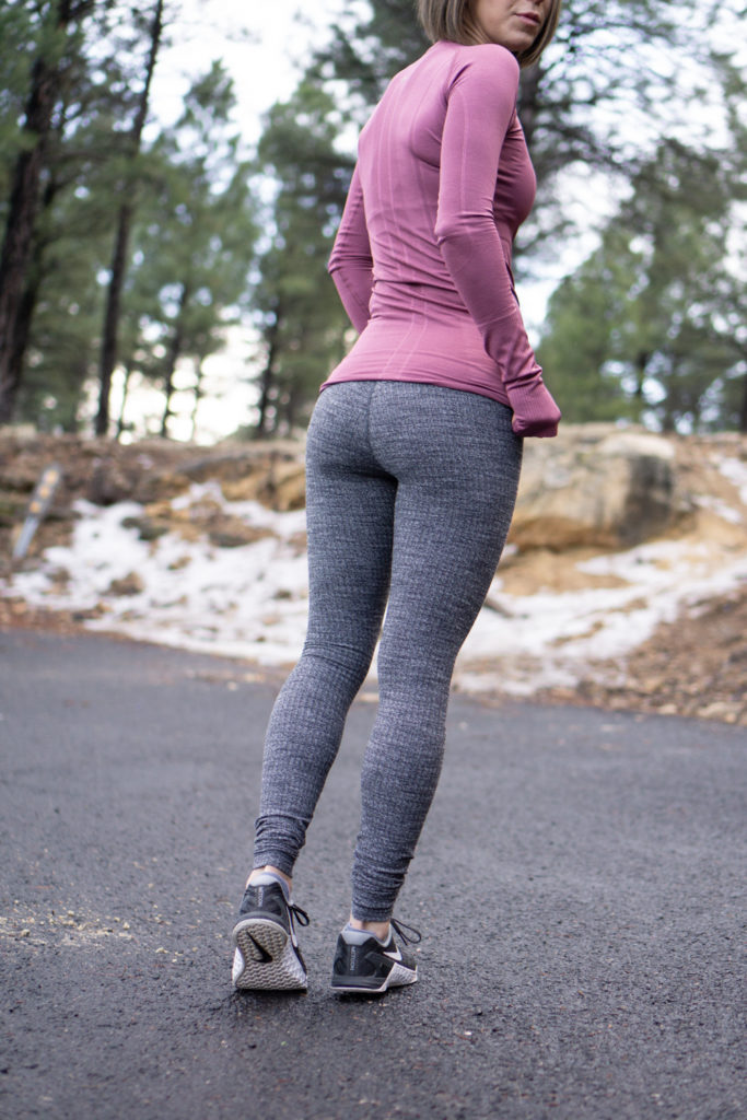 Lululemon winter workout outfit