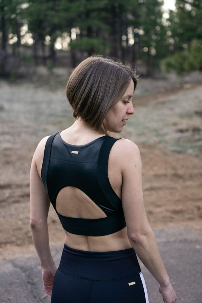 Alala cutout back sports bra