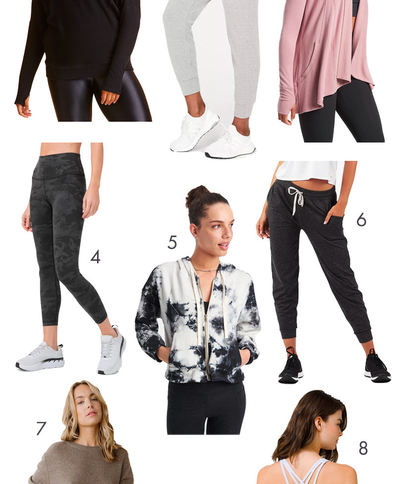 Athleisure and luxe lounge for staying comfy in quarantine
