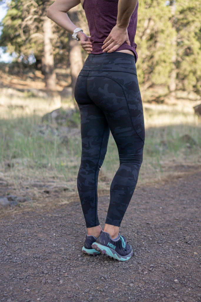 Lululemon camo running tights