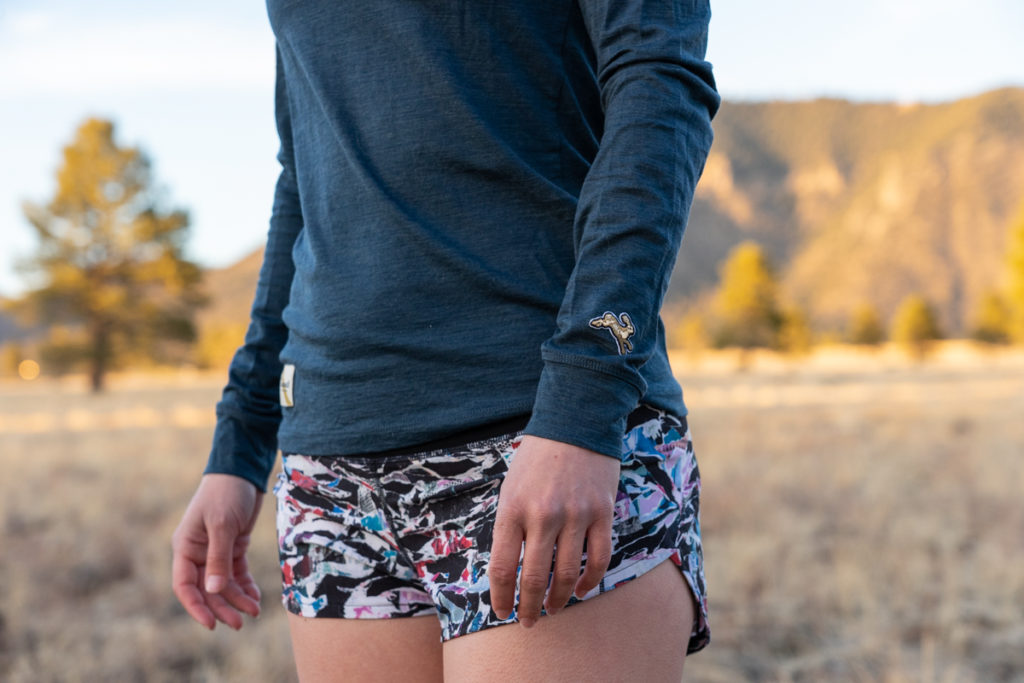 Tracksmith running top review: harrier long sleeve