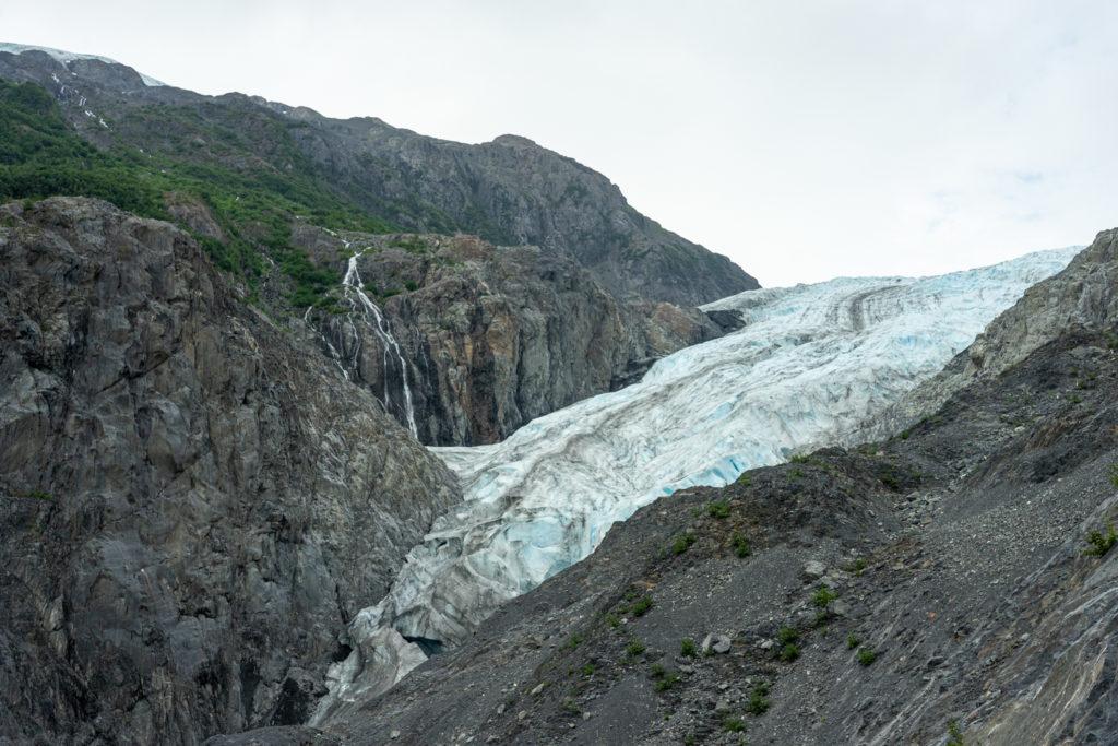 Exit Glacier recession in Alaska - July 2019