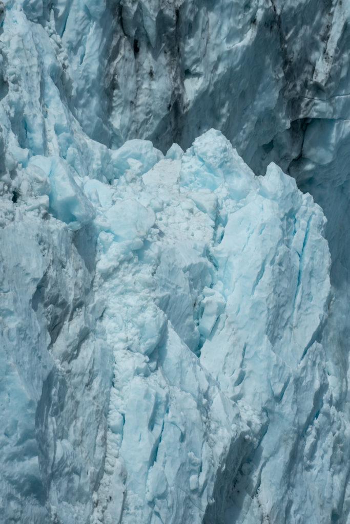 Prince Edward Sound tidal glacier - Lazy Otter Charters boat tour