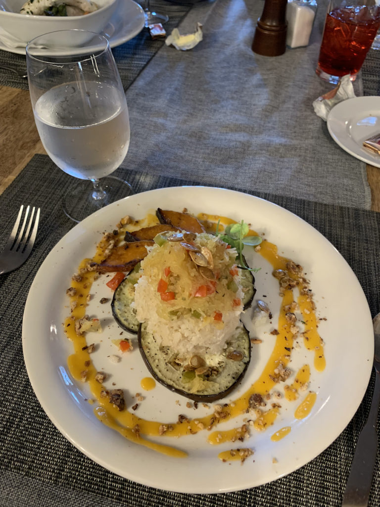 Staying at the Denali Backcountry Lodge: dinner
