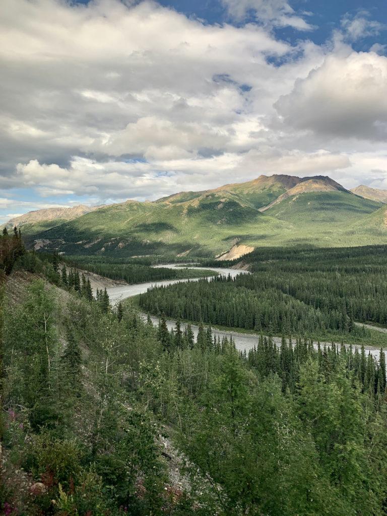 Views from the Denali Star Train