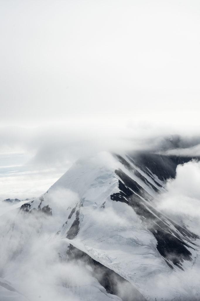 Mountains of the Alaska Range: flightseeing tour