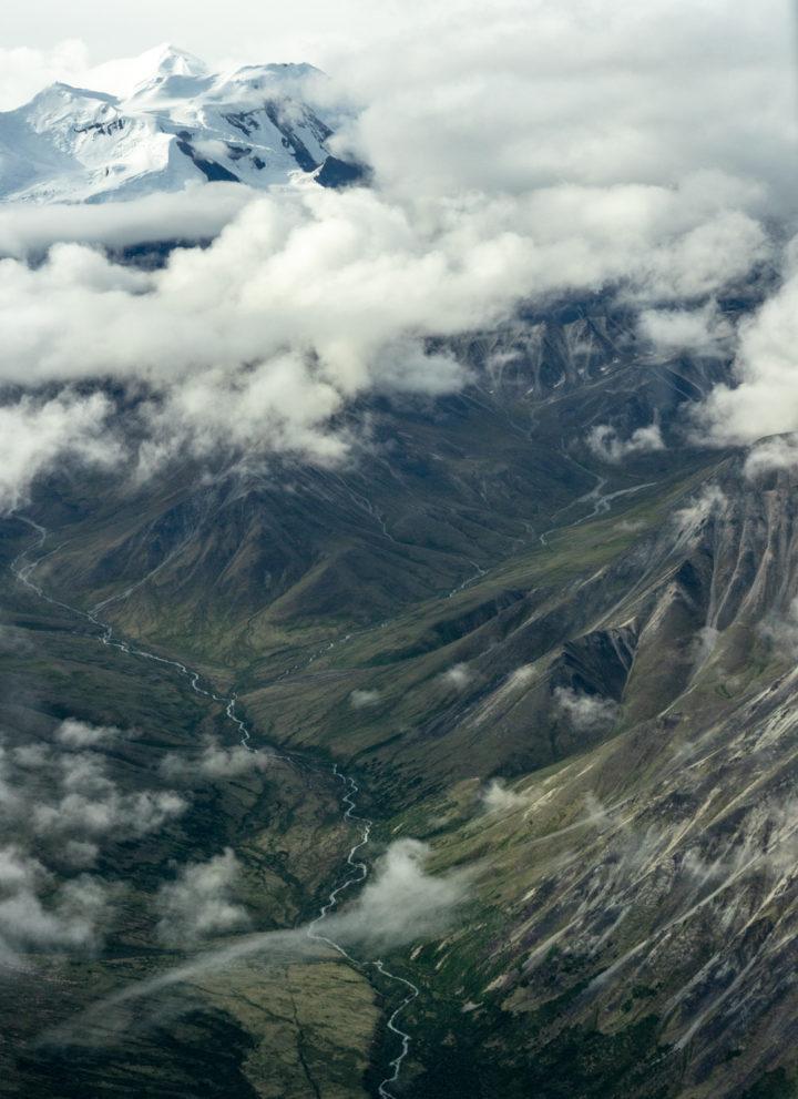 Denali flightseeing tour from Kantishna