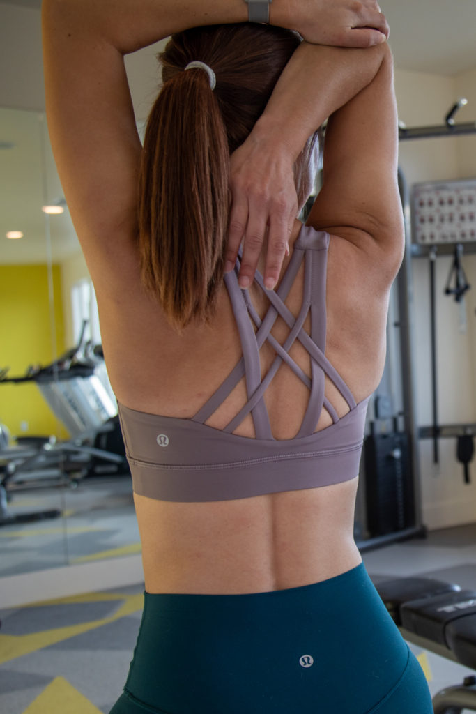Lululemon weightlifting outfit