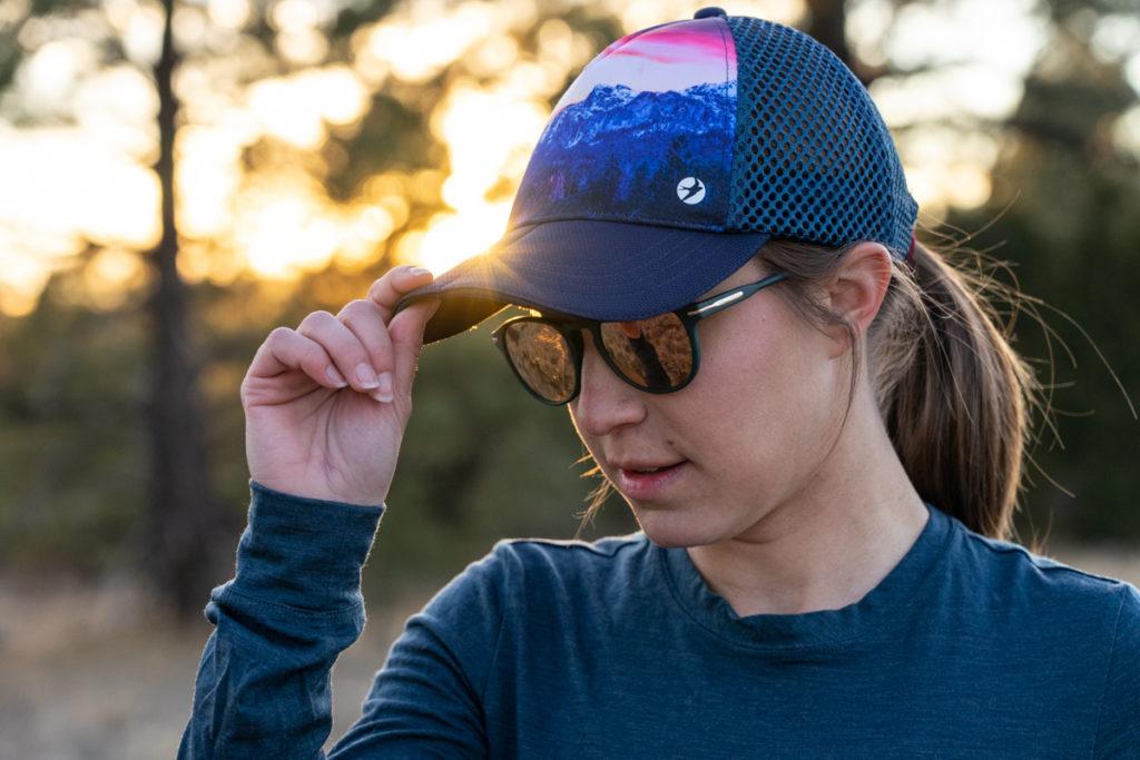 Best women's hiking hat: Oiselle runner trucker review